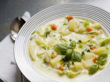 Pieniška cukinijų sriuba