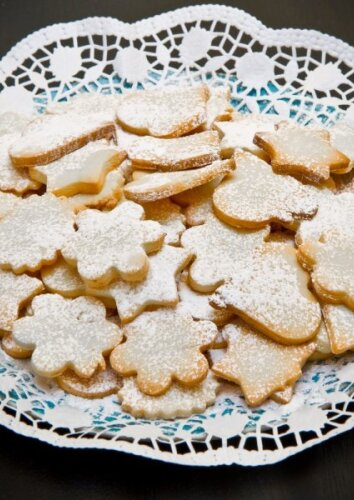 Skanučiai sviestiniai sausainiukai