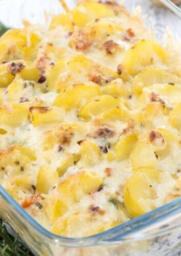 Silkių ir bulvių apkepas