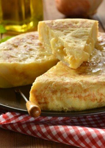 Sotusis ispaniškas omletas su bulvėmis