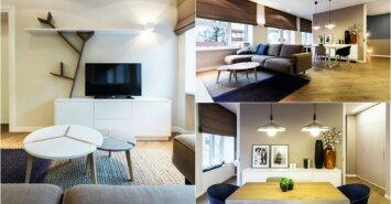 Jaukus ir stilingas minimalistinis interjeras Vilniuje - už protingą kainą