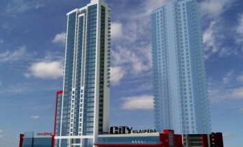 City Klaipėda projekto vizualizacija