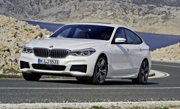 Naujas BMW 6 Grand Turismo