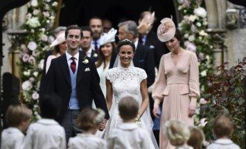Pippa'os Middleton vestuvės