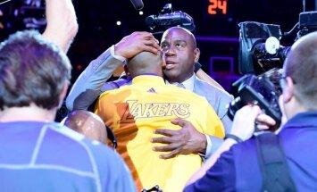 M. Johnsonas tampa naujuoju Los Andželo klubo krepšinio operacijų prezidentu.