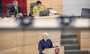 President Dalia Grybauskaitė annual State of the Nation Address to the Seimas