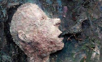 Aistės Gabrielės Černiūtės paveikslas Sudie, mano strazde