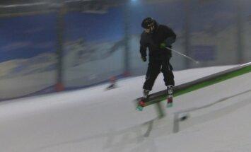 slidinėjimo laisvuoju stiliumi atstovas