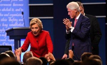 Hillary Clinton ir Billas Clintonas