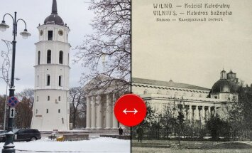 Vilnius then and now