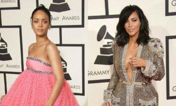 Rihanna ir Kim Kardashian