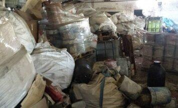 Ekologinę bombą Kauno rajone