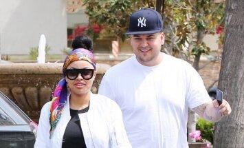 Blac Chyna ir Rob Kardashian