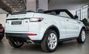 Į Vilnių atvežti pirmieji Range Rover Evoque Convertible