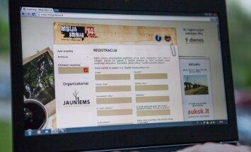 Registracija į Misija Sibiras