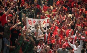 Pirėjo Olympiakos klubo fanai