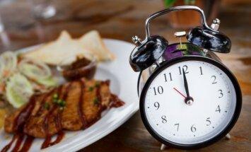 Maistas greta laikrodžio