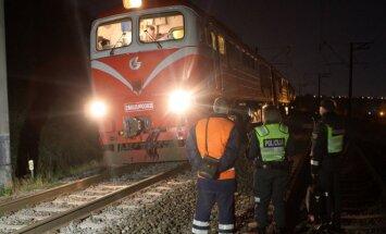 Kaune traukinys pervažiavo žmogų, vyras žuvo vietoje