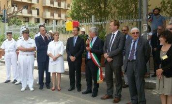 Palerme – iškilmingas Lietuvos aikštės atidarymas