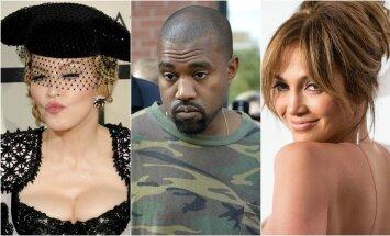 Madonna, K. Westas, J. Lopez