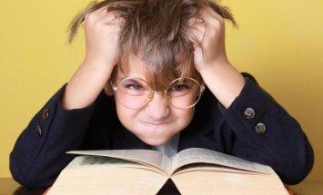 Vaikas, nenorintis skaityti