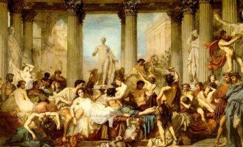 Thomaso Couture paveikslas Dekadanso romėnai