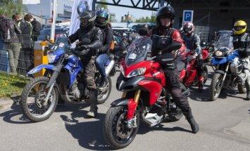 Motociklininkų varžybos Mototurizmo sprintas 2015