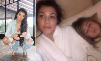 Kourtney Kardashian su dukra