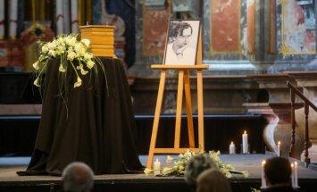 Atsisveikinimas su G. Ruplėnu Šv. Kotrynos bažnyčioje