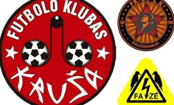 Keisčiausi Lietuvos klubų logotipai