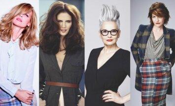 Šukuosenos ir stilius vyresnio amžiaus moterims