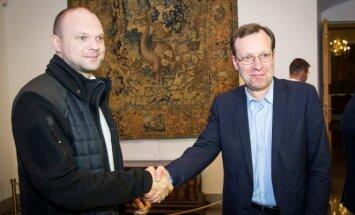 Kristupas Krivickas ir Naglis Puteikis