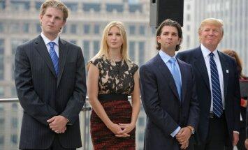 Ericas Trumpas, Ivanka Trump ir Donaldas Trumpas jaunesnysis ir Donaldas Trumpas