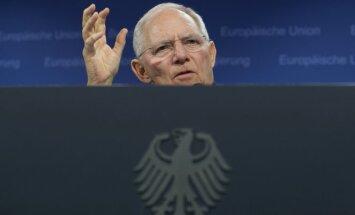 Vokietijos finansų ministras Wolfgangas Schaueble