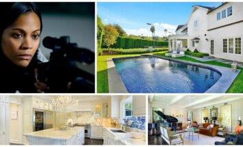 Aktorės Zoe Saldana ir jos šeimos namai