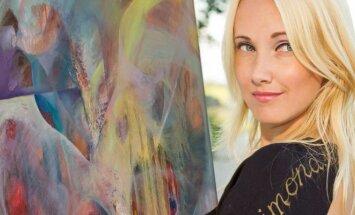 Menu gydanti S. Juškevičiūtė: mane žavi, kai per tapybą galiu padėti žmogui