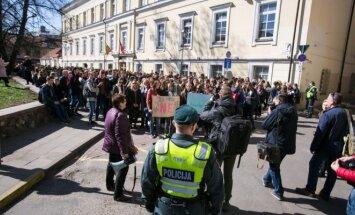 Protesto akcija Ar ilgiau yra geriau?