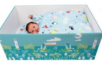 Suomiška dėžė kūdikiams