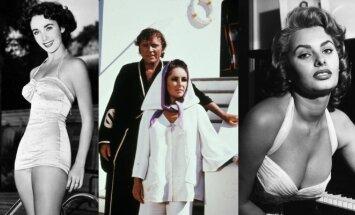 Elizabeth Taylor, Richardas Burtona, Sophia Loren