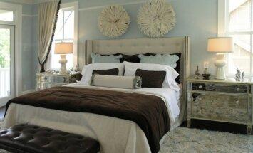 Miegamasis: menas virš lovos