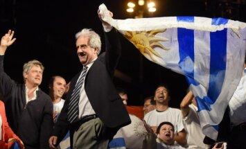 Urugvajaus prezidentu išrinktas Tabare Vazquezas
