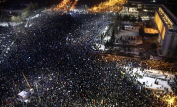 Riaušės ir protestai Rumunijoje