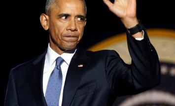 Baracko Obamos atsisveikinimo kalba