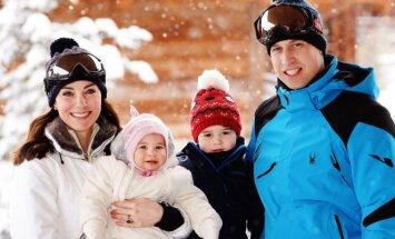 Princas Williamas, princas George'as, Kembridžo kunigaikštienė Catherine ir princesė Charlotte