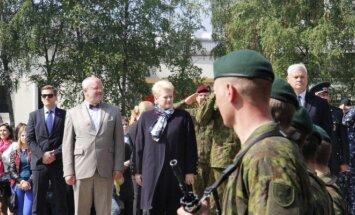 Pirmųjų šauktinių karių išleidimo į atsargą ceremonija