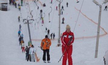 Kalitos kalnas žiemą sulaukia labai daug lankytojų