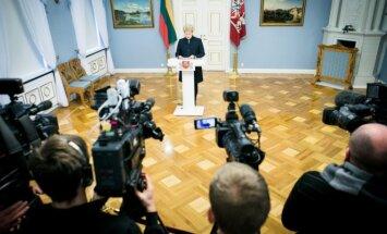D. Grybauskaitė appoints Skvernelis-led Cabinet