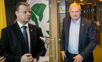 Saulius Skvernelis and Bronis Ropė