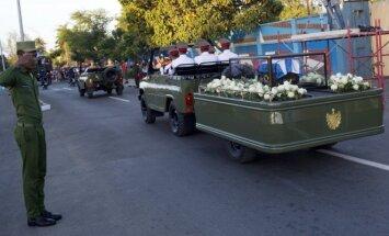 F. Castro laidotuvės