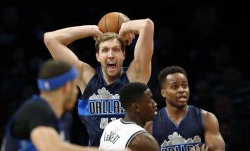 Dallas Mavericks aukštaūgis Dirkas Nowitzkis